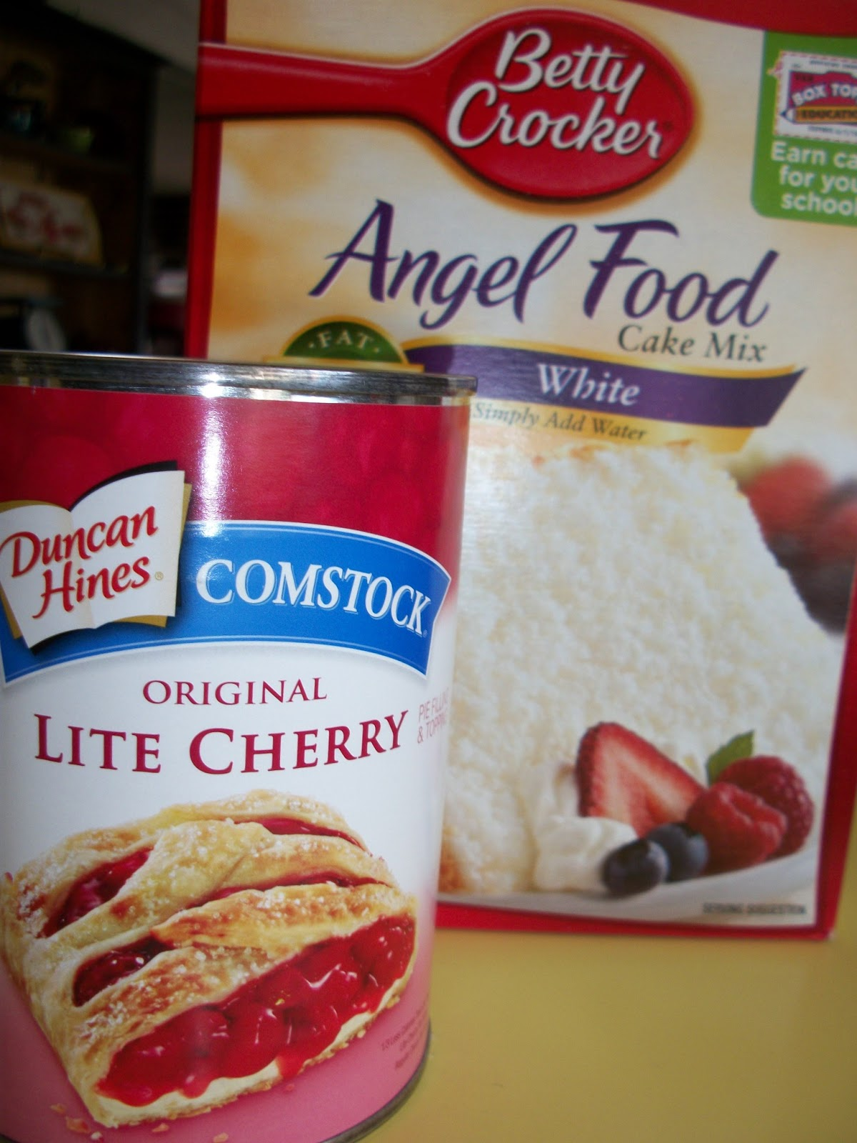 2 ingredient ww cherry angel food cake forumfinder Gallery