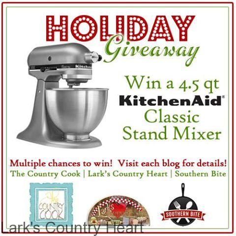 Kitchen Aid Giveaway and Christmas Fudge