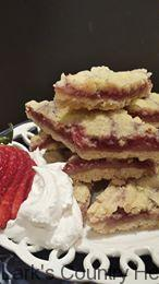 Strawberry Shortbread bars2