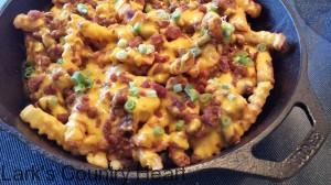 Skillet Chili Cheese Fries
