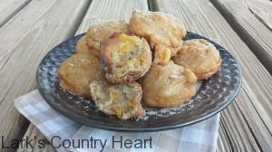 Peach Pie Fritters