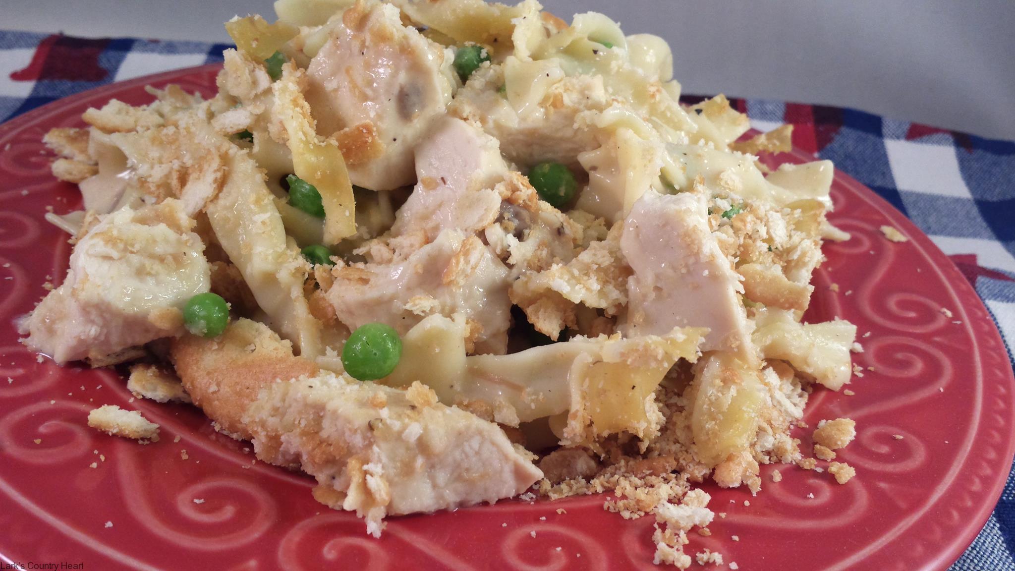 Chicken Pasta Casserole