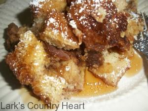 Caramel  Apple French Toash Casserole