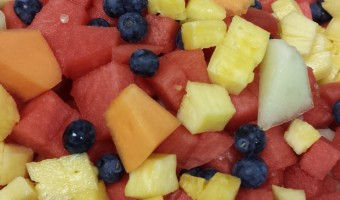 Glazed Fruit Salad