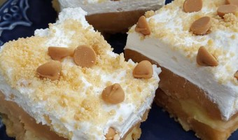 Vanilla Cream Peanut Butter Delight