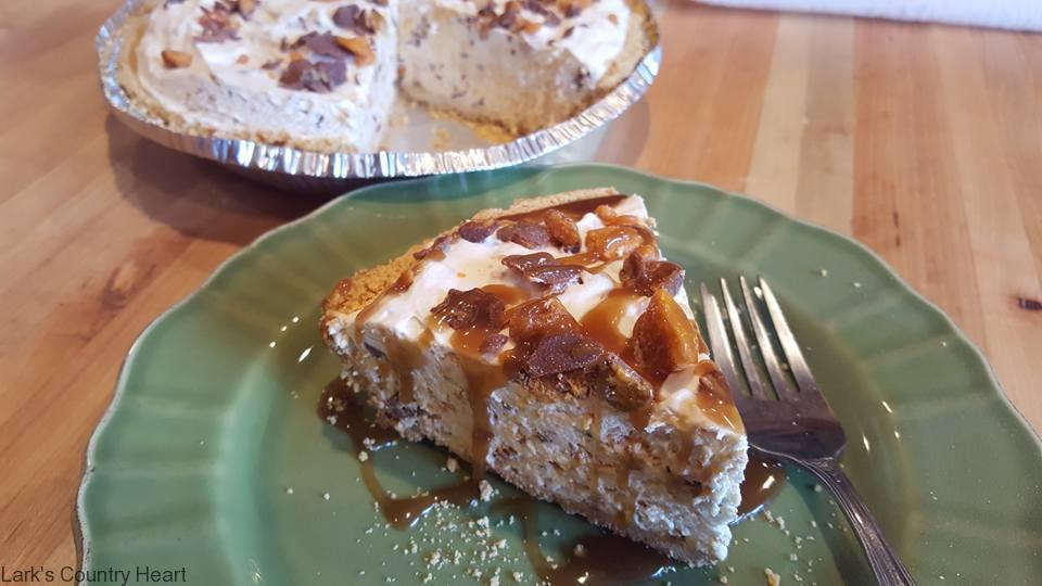 Butterfinger Cream Cheese Pie1