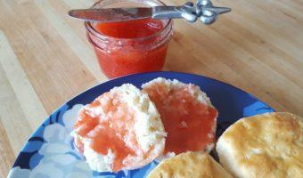 4~ Ingredient Strawberry Freezer Jam