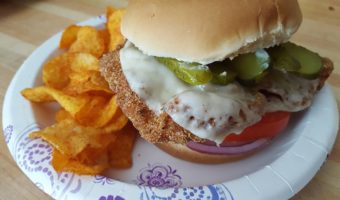 Easy Chicken Cutlet Sandwiches