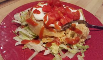 Baked Mini Salsa Chicken Chimi's