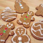 3 Ingredient Gingerbread Cookies