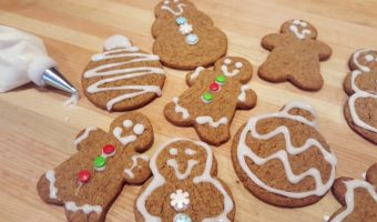 3 Ingredient Gingerbread Cookies