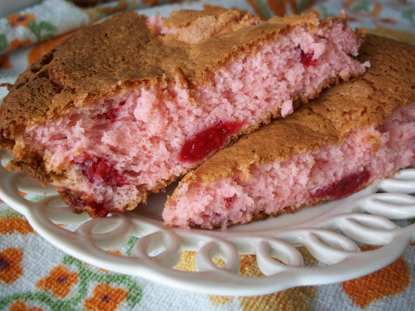 2 Ingredient W W Cherry Angel Food Cake